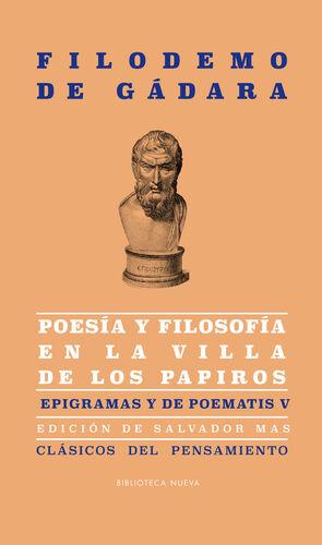 POESIA Y FILOSOFIA EN LA VILLA DE LOS PAPIROS