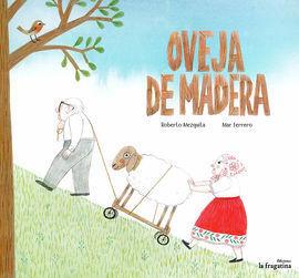 OVEJA DE MADERA