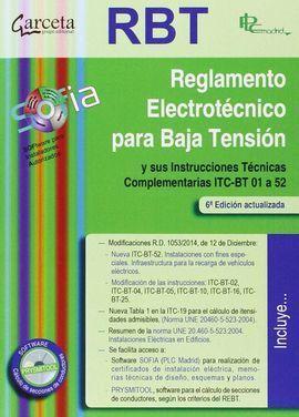 REBT REGLAMENTO ELECTROTECNICO PARA BAJA TENSION