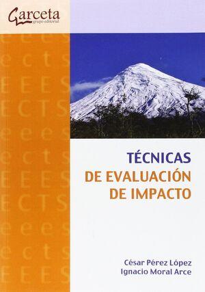 TECNICAS DE EVALUACION DE IMPACTO