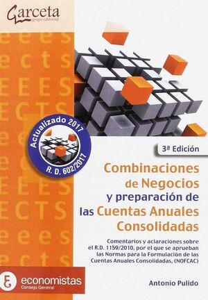 COMBINACIONES DE NEGOCIOS Y PREPARACION CUENTAS ANUALES CON