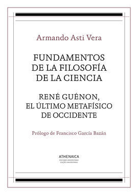 FUNDAMENTOS DE LA FILOSOFIA DE LA CIENCIA / RENE G