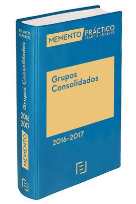 MEMENTO PRÁCTICO GRUPOS CONSOLIDADOS 2016-2017