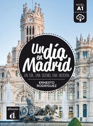 UN DIA EN MADRID A1 LIBRO Y MP3 DESCARGABLE