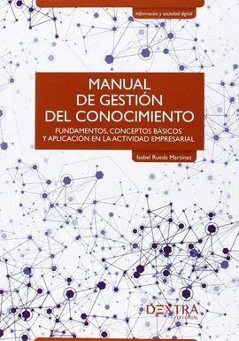 MANUAL DE GESTIÓN DEL CONOCIMIENTO