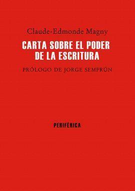 CARTA SOBRE EL PODER DE LA ESCRITURA