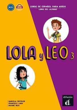 LOLA Y LEO 3 LIBRO DEL ALUMNO MP3 DESCARGABLE