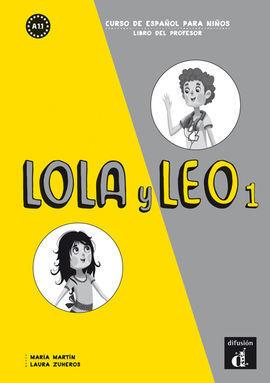 LOLA Y LEO 1 LIBRO DEL PROFESOR