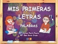 MIS PRIMERAS LETRAS PALABRAS GEU