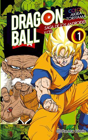 DRAGON BALL COLOR CELL Nº 01