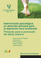 INTERVENCION PSICOLOGICA. MANUAL DEL TERAPEUTA