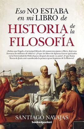 ESO NO ESTABA EN MI LIBRO DE HISTORIA DE LA FILOSOFÍA