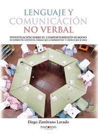 LENGUAJE Y COMUNICACIÓN NO VERBAL