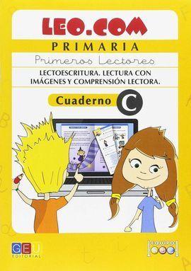 LEO.COM PRIMARIA CUADERNO C PRIMEROS LECTORES