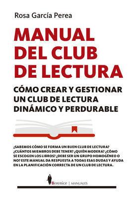 MANUAL DE CLUBES DE LECTURA