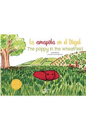 LA AMAPOLA EN EL TRIGAL. THE POPPY IN THE WHEATFIELD