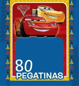 CARS 3. PEGATINAS DISNEY