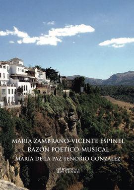 MARIA ZAMBRAN-VICENTE ESPINEL. RAZÓN PEÉTICO-MUSICAL