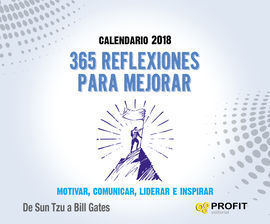 CALENDARIO 2018. 365 REFLEXIONES PARA MEJORAR
