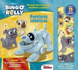 BINGO Y ROLLY. AVENTURAS ROBOTICAS CUENTO CON PEGA