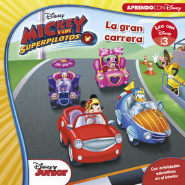MICKEY Y LOS SUPERPILOTOS. LA GRAN CARRERA (LEO CON DISNEY NIVEL 3)