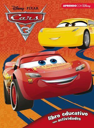CARS 3 (LIBRO EDUCATIVO DISNEY CON ACTIVIDADES)