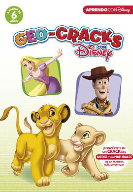 GEO-CRACKS CON DISNEY (A PARTIR DE 6 AÑOS) (CRACKS CON DISNEY)