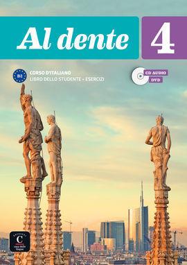 AL DENTE 4 LIBRO DELLO STUDENTE + ESERCIZI + CD+DVD