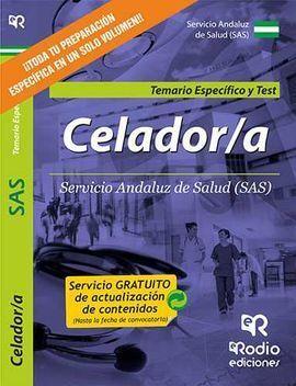 TEMARIO ESPECIFICO Y TEST CELADOR SERVICIO ANDALUZ DE SALUD