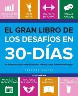 EL GRAN LIBRO DE LOS DESAFÍOS DE 30 DÍAS