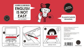 PLANIFICADOR SEMANAL ENGLISH IS NOT EASY