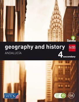 GEOGRAPHY AND HISTORY. 4 ESO. SAVIA. ANDALUCÍA