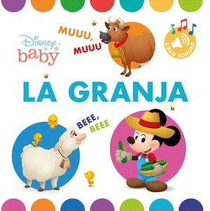 DISNEY BABY. LA GRANJA. LIBRO CON SONIDOS