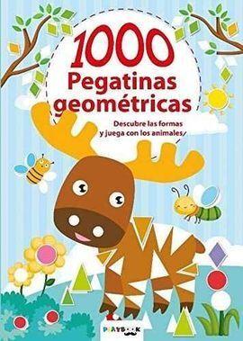 ANIMALES 1000 PEGATINAS GEOMETRICAS