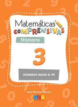 MATEMÁTICAS COMPRENSIVAS. NÚMEROS 3