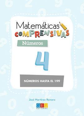MATEMÁTICAS COMPRENSIVAS NÚMEROS 4