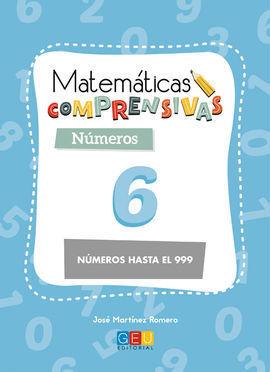 MATEMÁTICAS COMPRENSIVAS. NÚMEROS 6