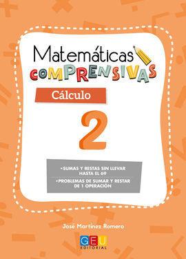 MATEMÁTICAS COMPRENSIVAS. CÁLCULO 2