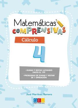 MATEMÁTICAS COMPRENSIVAS CÁLCULO 4
