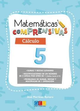 MATEMÁTICAS COMPRENSIVAS. CÁLCULO 5