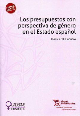 PRESUPUESTOS CON PERSPECTIVA DE GÉNERO EN EL ESTADO ESPAÑOL, LOS