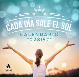 CALENDARIO CADA DIA SALE EL SOL 2019