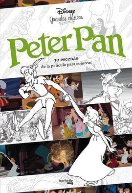 GRANDES CLÁSICOS PARA COLOREAR. PETER PAN