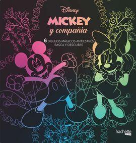 ARTETERAPIA.Á MICKEY MOUSE. 6 DIBUJOS MAGICOS: RASCA Y DESCUBRE