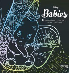 ARTETERAPIA.Á DISNEY BABIES. 6 DIBUJOS MAGICOS: RASCA Y DESCUBRE