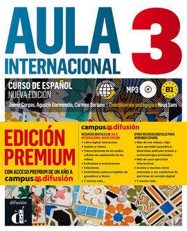 AULA INTERNACIONAL 3 EDICIÓN PREMIUM