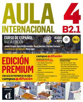 AULA INTERNACIONAL 4 PREMIUM