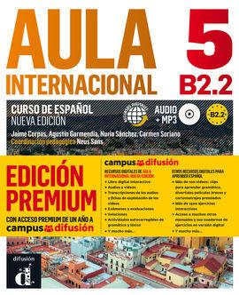 AULA INTERNACIONAL 5 EDICIÓN PREMIUM