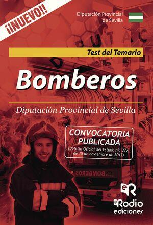 BOMBEROS DE LA DIPUTACION PROVINCIAL DE SEVILLA TEST DEL TEMARIO