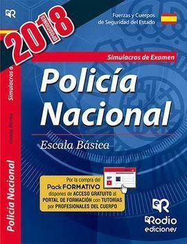 CUERPO NACIONAL DE POLICÍA. ESCALA BÁSICA. SIMULACROS DE EXAMEN. QUINTA EDICIÓN